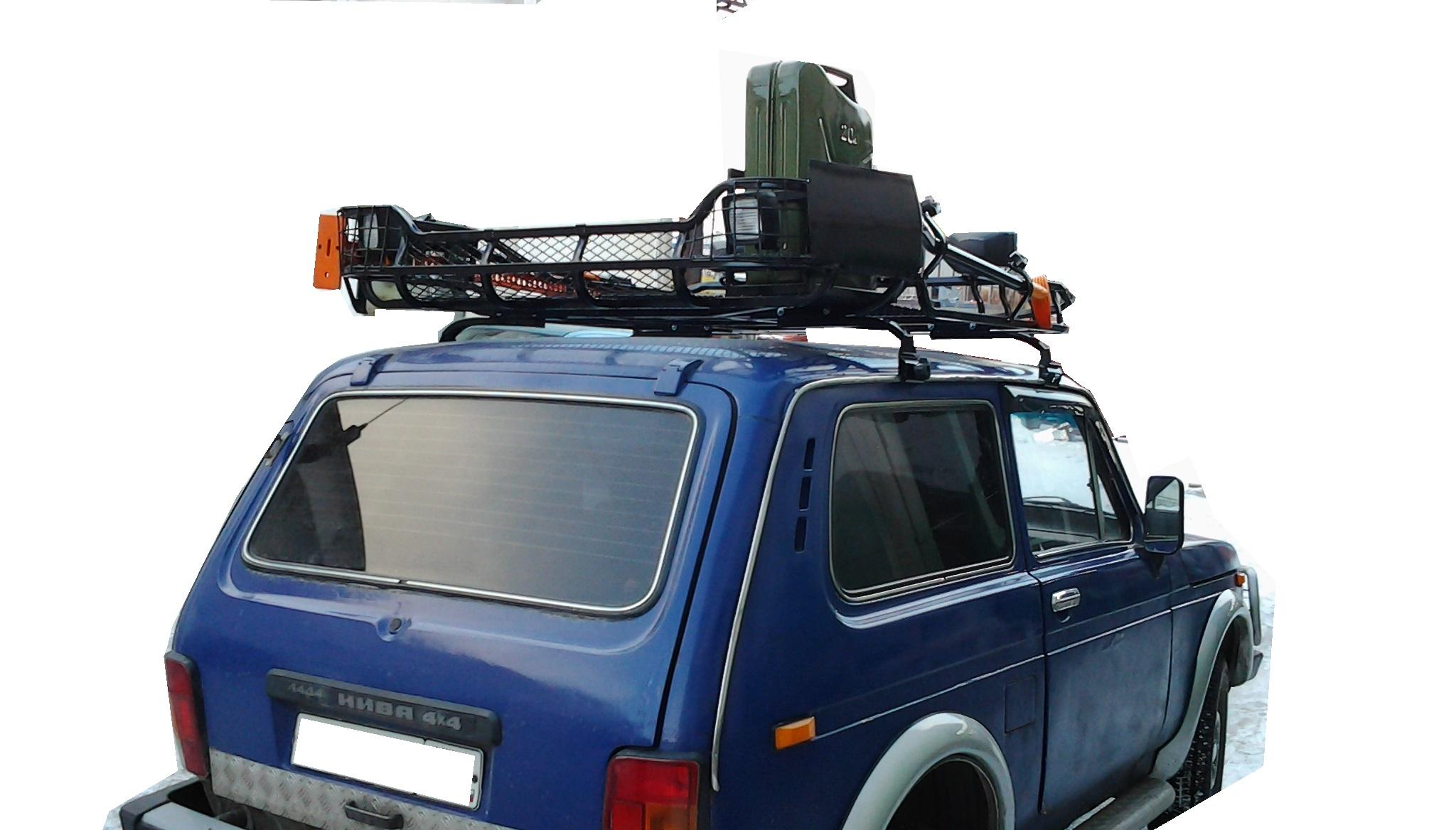 Экспедиционный багажник на Ниву: конструкция 99