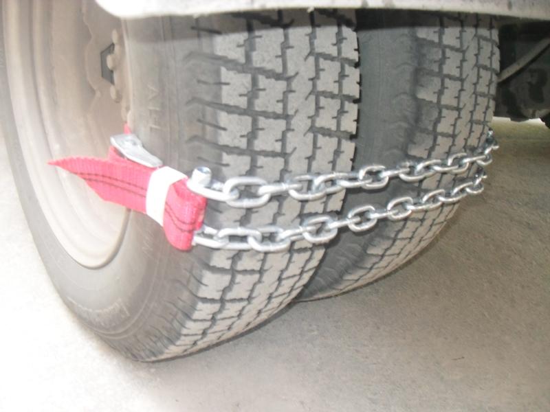Как сделать цепь на колеса газель