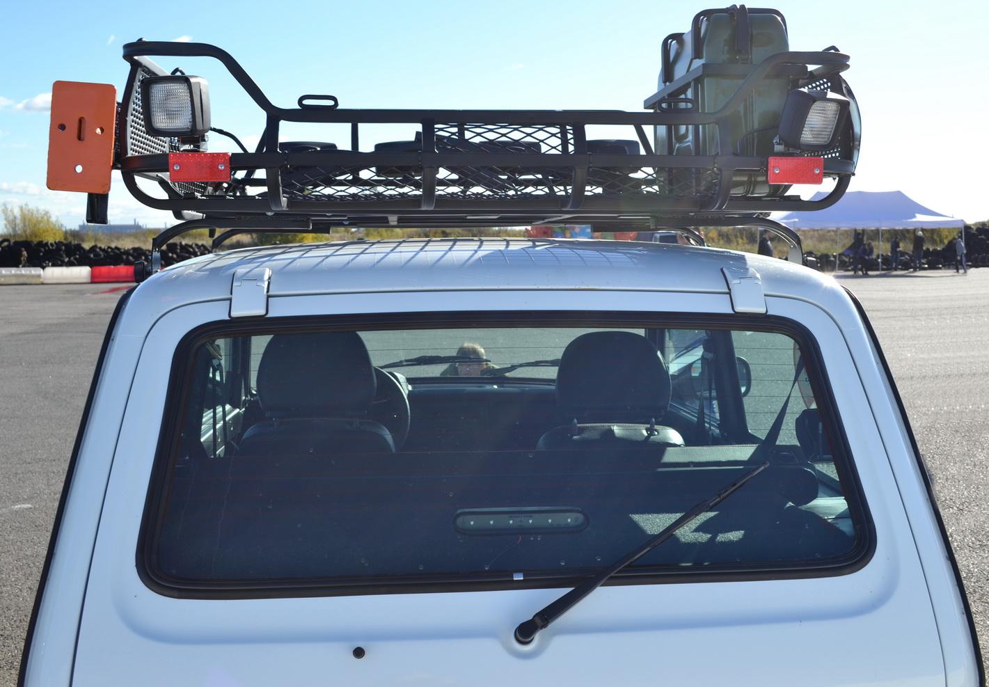 Экспедиционный багажник на Ниву: конструкция 79